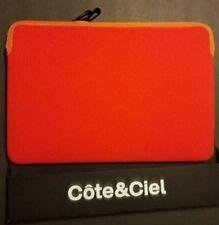 "Cote & Ciel High Quality Red Orange Apple Macbook Pro Laptop Case 11"" RRP £39.95"