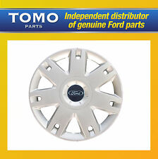 "New Genuine Ford Fiesta/Fusion 15"" Inch Wheel Trim/Hub Cap X1 1320901"