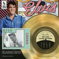 Liberia 2012 MNH ELVIS PRESLEY Classic HITS IV S / S IV LOVING YOU BABY STAMPS