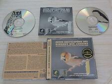 BOX 2 CD PETITE ENCYCLOPEDIE DES OISEAUX DES JARDINS BOUGRAIN DUBOURG ALAIN