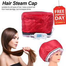 Hair Steamer Cap Dryers Electric Heating Cap Thermal Treatment Hat Beauty SPA EJ