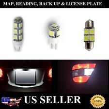 12PC White LED  Package Kit for Map,License Plate,Dome, & Back Up Light