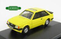 BNIB OO GAUGE OXFORD 1:76 76XR007 Ford Escort XR3i Prairie Yellow Car