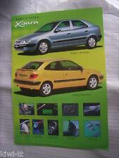 Citroen Xsara Prospekt / Brochure / Depliant, Polen