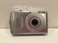 Canon PowerShot SD630 Camera Digital ELPH 6.0MP Silver TESTED