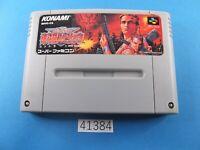 Contra Spirits SNES Nintendo Super Famicom SFC Used From Japan 41384