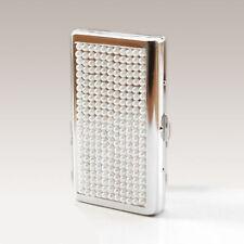 Pearl Female Long Cigarette Case Box Slim Portable Storage Sealed Gift for Girls