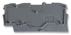 Wago 2002-1391 End and Intermediate plate. Grey 22  10pcs.