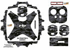 Black Camouflage DJI Phantom 4 P4 Skin Wrap Decal Sticker Vinyl Ultradecal