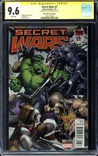 SECRET WARS (2015) #7 Mile High Comics Edition CGC 9.6 Signature - Dale Keown