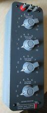 General Radio 1432 J Decade Resistor Box