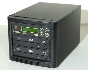 Copystars Blu Ray Duplicator 16X BD-R BDXL Mdisc CD Dvd Burner Blank Media Tower