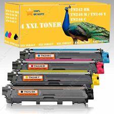 4x Toner compatibile Brother tn241 tn245 BK CY mg YE CW mfc-9130/mfc-9140