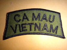 """Vietnam War Subdued Tab Patch """"CA MAU VIETNAM"""""""