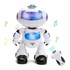 RC Remote Control Robot - Intelligent Walking RC Space Robot with Music & Light