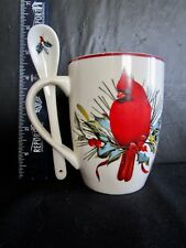 Lenox   American By Design   WINTER GREETINGS   Cup With Spoon