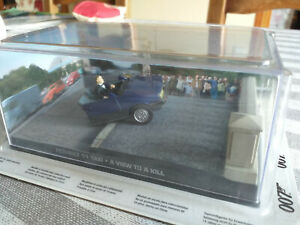 Voiture 007 james bond - renault 11 taxi - eaglemoss - a view to kill - 53
