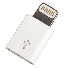 micro to iphone 6 plug Mini Micro USB to Lightning pin plug adapter new