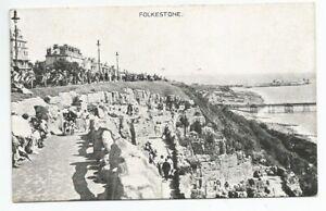 Postcard Of Zig Zag Path Folkestone, Kent Unused