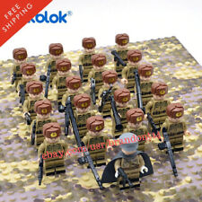 WW2 21 Minifigure Russian Army - LEGO Compatible WW2 Soldiers Troops Soviet