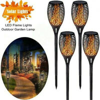 Outdoor 96 LED Solar Torch Light Dancing Flickering Flame Waterproof Lamp  Nice
