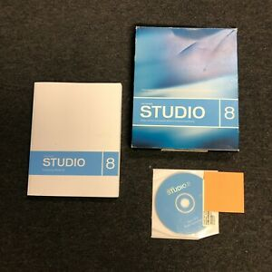 Macromedia Studio 8 Win/Mac Gently used