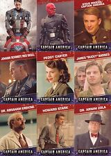 CAPTAIN AMERICA THE FIRST AVENGER 2011 UPPER DECK BASE CARD SET OF 99 MARVEL