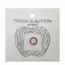 TOUCH ID Metal Home Button Sticker Ring For iPhone 7 6 6s 5s Plus & iPad Air