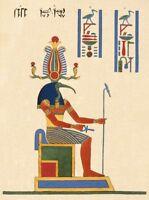 Thoth : Jean-Francois Champollion : circa 1825 Art Print Suitable for Framing
