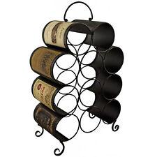 Etiquetas - Metal Decorativo 11 Botellero de vino - Marrón / Crema zpgqel007