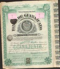 """BANCO DE GUANAJUATO 1906 => """"WINSTON CHURCHILL"""""""