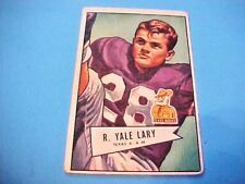 1952 Bowman R Yale Larry #140 Sports Card San Francisco 49ers Football RC #S617