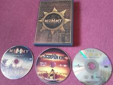 The Mummy Collector's set 3x Film DVD. The Franchise Collection. NTSC REG 1  MNT