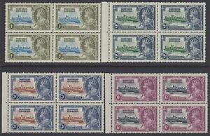 Northern Rhodesia, Scott 18-21 (SG 18-21), MNH block of four