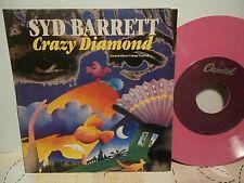 "Syd Barrett ""Crazy Diamond""ep7"" Capitol""NR 7243 8 58186 7.pink vinyl usa 1993"
