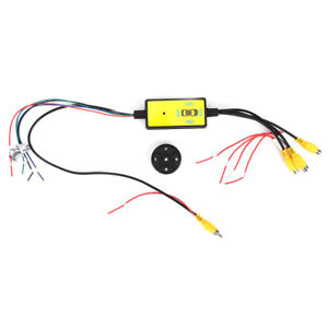 Intelligent Car Video Switch ABS Converter 4 Input 1 Output Switch Video System