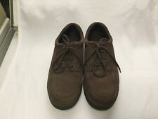 """Bass"" brown suede/leather men's shoes size 10 1/2 medium"