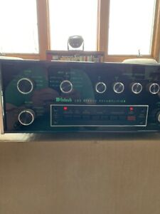 MCINTOSH C33 FM STEREO PREAMPLIFIERIN EXCELLENT WORKING CONDITION
