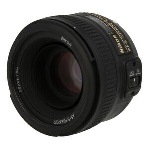 Nikon Nikkor 50mm F1.8 SWM AF-S Aspherical G Objektiv nero