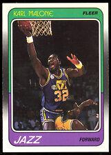 1988 FLEER BASKETBALL #114 KARL MALONE NM-MINT UTAH JAZZ HOF CARD
