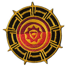 Ecusson patch patche Mystic Mystique Symbol thermo patch brodé