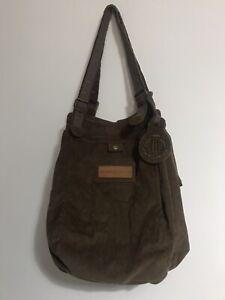 Henri Lloyd Brown Corduroy Shoulder Bag