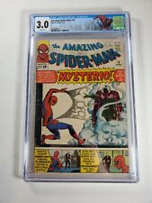 Amazing Spider-Man #13 CGC 3.0 white pages Graded 1st App Mysterio!