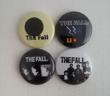 "4 x The Fall 1"" Pin Button Badges ( band music post punk dragnet grotesque )"