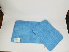 2 Piece Bath Rug Set Unbranded Baby Blue Brand New with Tags