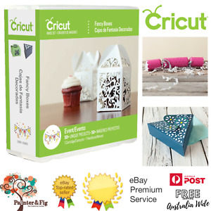 Cricut Cartridge Fancy Boxes - Crackers, Gift Boxes, Packaging, Wrapping