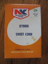 Northrop King Hybrid Sweet Corn Box package