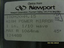 Newport Optics High-Energy Laser Mirror, 25.4 mm Dia. 45°, 1064 nm 10QM20HM.15