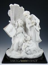 Giuseppe Armani Figurine Sculpture #0624F Nativity Mary Joseph & Jesus 1983 Box
