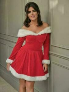 Ann Summers Sexy Santa Outfit & Hat Sz Large (16-18) *2020 Range*